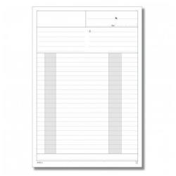 Modulistica Data Ufficio - Modulo di preventivazione - 50 fogli - 215 x 297 mm du1670c0000