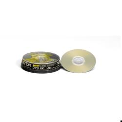 DVD TDK - Dvd+r x 10 - 4.7 gb - supporti di memorizzazione dvdr47cb1016xls