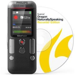 Registratore vocale Philips - DVT2710 + Software riconoscimento vocale