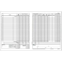 Modulistica EdiPro - Registro contabile iva - 15 pagine - 245 x 310 mm e2103
