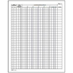 Modulistica EdiPro - Registro spese mancanti/non regolari - 245 x 310 mm e2108