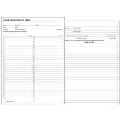 Modulistica EdiPro - Registro dei verbali delle riunioni di condominio - 96 pagine e2529