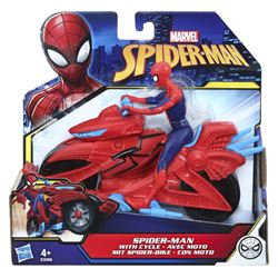 Marvel - Spider-man - spider-man figure with cycle e3368eu4