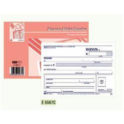 Modulistica EdiPro - Blocco ricevuta di pagamento delle attività sportive - 50 fogli e5567c