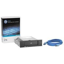 Supporto storage Hewlett Packard Enterprise - Hpe rdx removable disk backup system - unità rdx - superspeed usb 3.0 e7x52a