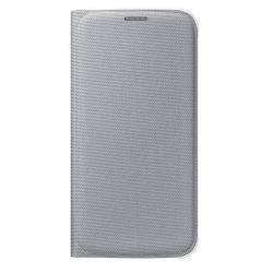 Custodia Samsung - FLIP WALLET SILVER S6 FABRIC