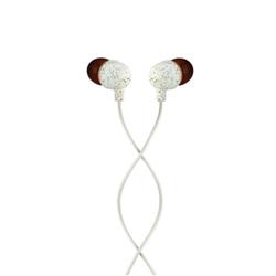 Auricolari con microfono Marley - Little Bird Bianco