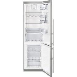 Réfrigérateur Electrolux EN3889MFX - Réfrigérateur/congélateur - pose libre - 350 litres - congélateur bas - Classe A++ - inox