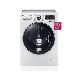 Lave-linge LG 6 Motion Direct Drive F12A8NDSA - Machine à laver - pose libre - largeur : 60 cm - profondeur : 44 cm - hauteur : 85 cm - chargement frontal - 42 litres - 6 kg - 1200 tours/min