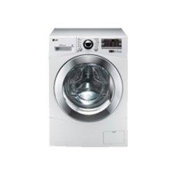 Lave-linge LG 6 Motion Direct Drive F12A8TDA - Machine à laver - pose libre - largeur : 60 cm - profondeur : 64 cm - hauteur : 85 cm - chargement frontal - 59 litres - 8 kg - 1200 tours/min