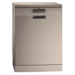 Lave-vaisselle AEG Favorit F66702M0P - Lave-vaisselle - pose libre - largeur : 59.6 cm - profondeur : 61 cm - hauteur : 85 cm - inox