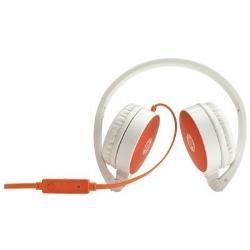 HP H2800 - Casque - sur-oreille - blanc, orange - pour ENVY x360; Pavilion; Pavilion Gaming; Pavilion x360; Spectre x360; x360