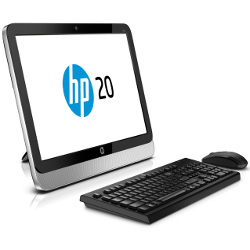 PC All-In-One HP - 20-2010el e1-2500 4g 500gb hdd