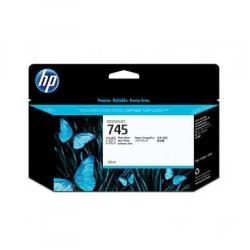 Cartuccia HP - 745 - alta capacità - nero per foto - originale - designjet f9k04a