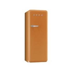 Réfrigérateur Smeg '50 FAB28RO1 - Réfrigérateur avec compartiment freezer - pose libre - largeur : 60 cm - profondeur : 73.2 cm - hauteur : 151 cm - 248 litres - Classe A++ - orange