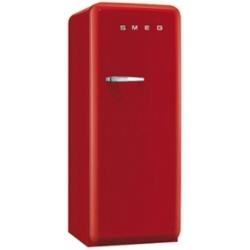 Réfrigérateur Smeg '50 FAB28RR1 - Réfrigérateur avec compartiment freezer - pose libre - largeur : 60 cm - profondeur : 73.2 cm - hauteur : 151 cm - 248 litres - Classe A++ - rouge