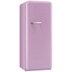 Réfrigérateur Smeg '50 FAB28RRO1 - Réfrigérateur avec compartiment freezer - pose libre - largeur : 60 cm - profondeur : 73.2 cm - hauteur : 151 cm - 248 litres - Classe A++ - rose