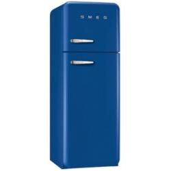 Réfrigérateur Smeg '50 FAB30RBL1 - Réfrigérateur/congélateur - pose libre - largeur : 60 cm - profondeur : 54.2 cm - hauteur : 168.8 cm - 293 litres - congélateur haut - Classe A++ - bleu