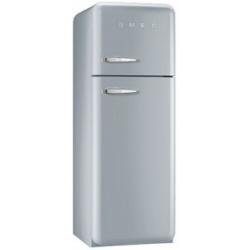 Réfrigérateur Smeg '50 FAB30RX1 - Réfrigérateur/congélateur - pose libre - largeur : 60 cm - profondeur : 72 cm - hauteur : 168.8 cm - 293 litres - congélateur haut - Classe A++ - argent polaire métallisé