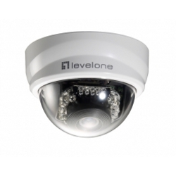 Telecamera per videosorveglianza Level One - 2mpx ip camera minidome poe intern
