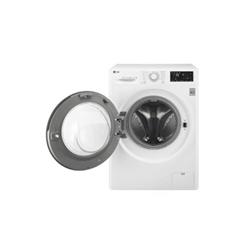 Lave-linge LG FH2U2QDN1 - Machine à laver - pose libre - largeur : 60 cm - profondeur : 56 cm - hauteur : 85 cm - chargement frontal - 59 litres - 7 kg - 1200 tours/min