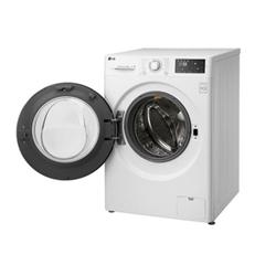 Lave-linge LG FH4U2VDN1 - Machine à laver - pose libre - largeur : 60 cm - profondeur : 56 cm - hauteur : 85 cm - chargement frontal - 59 litres - 9 kg - 1400 tours/min