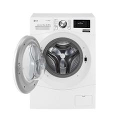 Lave-linge LG FH6F9BDS2 - Machine à laver - pose libre - largeur : 60 cm - profondeur : 64 cm - hauteur : 85 cm - chargement frontal - 77 litres - 12 kg - 1600 tours/min - blanc