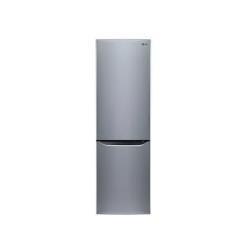 Réfrigérateur LG GBB530PZCFS - Réfrigérateur/congélateur - pose libre - largeur : 59.5 cm - profondeur : 65 cm - hauteur : 201 cm - 343 litres - congélateur bas - Classe A+++ - Acier