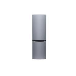 Réfrigérateur LG GBB530PZCPS - Réfrigérateur/congélateur - pose libre - largeur : 59.5 cm - profondeur : 65 cm - hauteur : 201 cm - 343 litres - congélateur bas - Classe A++ - inox