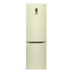 Réfrigérateur LG GBB530SEQZS - Réfrigérateur/congélateur - pose libre - largeur : 59.5 cm - profondeur : 68.6 cm - hauteur : 201 cm - 343 litres - congélateur bas - Classe A++ - sable