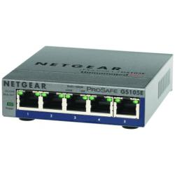 Switch Netgear - ProSafe Switch Plus Giga 5porte Gb