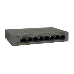 Switch Netgear - Gs308p - switch - 8 porte - unmanaged gs308p-100pes