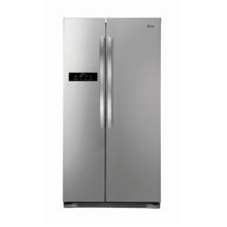 Réfrigérateur LG GSB325PZQZ - Réfrigérateur/congélateur - pose libre - largeur : 89.4 cm - profondeur : 73.1 cm - hauteur : 175.3 cm - 572 litres - Américain - Classe A++ - inox supérieur