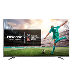 "TV LED Hisense H50N6800 - Classe 50"" - N6800 Series TV LED - Smart TV - 4K UHD (2160p) - HDR - local dimming, E-LED Backlight, ULED - noir, gris foncé"