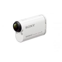 Caméscope Sony Action Cam-HDR-AS200VR - Caméra de poche - fixable - 1080p - 12.8 MP - Carl Zeiss - Wi-Fi, NFC - sous-marin jusqu'à 5 m - blanc