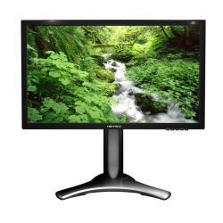 """Écran LED HANNS.G HP Series HP227DCB - Écran LED - 21.5"""" (21.5"""" visualisable) - 1920 x 1080 Full HD (1080p) - 250 cd/m² - 1000:1 - 5 ms - DVI-D, VGA - haut-parleurs - texture noire"""