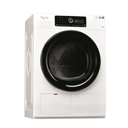 Asciugatrice Whirlpool - HSCX 10441 Classe A++ 10 Kg Profondità 65,9 cm Pompa di calore