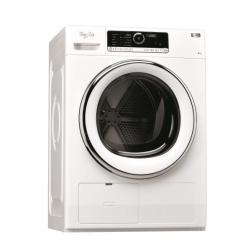 Sèche-linge Whirlpool Supreme Care HSCX 80423 - Sèche-linge - pose libre - largeur : 59.6 cm - profondeur : 65.9 cm - hauteur : 84.5 cm - chargement frontal - blanc