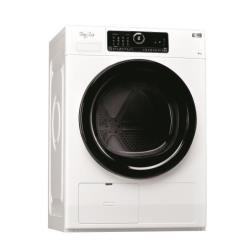 Sèche-linge Whirlpool Supreme Care HSCX 80531 - Sèche-linge - pose libre - largeur : 59.6 cm - profondeur : 65.9 cm - hauteur : 84.5 cm - chargement frontal - blanc
