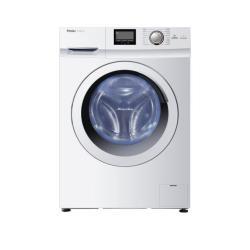 Lave-linge Haier HW100-B14266A - Machine à laver - pose libre - largeur : 59.5 cm - profondeur : 65 cm - hauteur : 84.5 cm - chargement frontal - 10 kg - 1400 tours/min