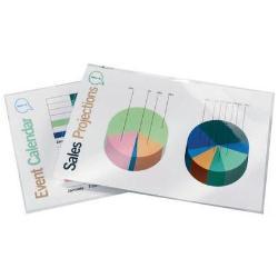 Pouches a caldo Document laminating pouch - confezione da 100 - brillante - a7 ib581076