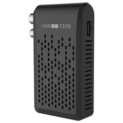 Image of Decoder Zapper back, hd, t2, hevc, usb recplay i-cant370