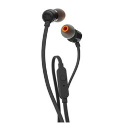 Auricolari con microfono JBL - T110 Nero