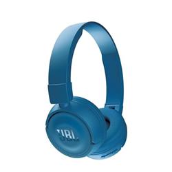 JBL T450BT - Casque avec micro - sur-oreille - sans fil - Bluetooth - bleu