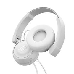 JBL T450 - Casque avec micro - sur-oreille - jack 3,5mm - blanc
