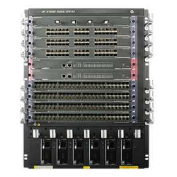 Hewlett Packard Enterprise - Hpe flexnetwork 10508 switch chassis - switch - gestito jc612a
