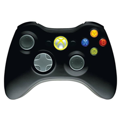 Controller Microsoft - Xbox 360 Wireless
