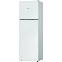 Réfrigérateur Bosch KDV33VW30 - Réfrigérateur/congélateur - pose libre - largeur : 60 cm - profondeur : 65 cm - hauteur : 176 cm - 300 litres - congélateur haut - Classe A++ - blanc