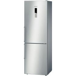 Réfrigérateur Bosch InoxLook KGN36XL32 - Réfrigérateur/congélateur - pose libre - largeur : 60 cm - profondeur : 65 cm - hauteur : 186 cm - 320 litres - congélateur bas - Classe A++ - inoxLook