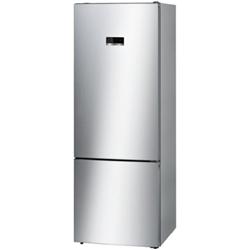 Réfrigérateur Bosch Serie 4 KGN56XL30 - Réfrigérateur/congélateur - pose libre - largeur : 70 cm - profondeur : 80 cm - hauteur : 193 cm - 505 litres - congélateur bas - Classe A++ - inox